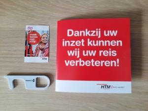 HTM attentie ( clean key + HTM Dagkaart )